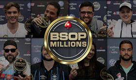 Conheça todos os campeões do BSOP Millions/CardPlayer.com.br