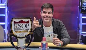 Luís Gustavo Teles é campeão do KSOP Brasília/CardPlayer.com.br