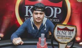 """Johnatan """"Dodô"""" Oliveira mantém liderança do KSOP 2018/CardPlayer.com.br"""