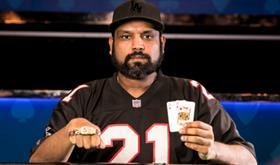 Anuj Agarwal crava Evento 86 da WSOP/CardPlayer.com.br