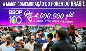 Freerolls do PokerStars oferecem pacotes completos para o BSOP100/CardPlayer.com.br