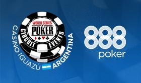 888poker tem satélites exclusivos para WSOPC Argentina /CardPlayer.com.br