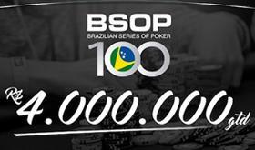 Centésima etapa do BSOP vai ter R$ 4 milhões garantidos/CardPlayer.com.br