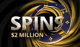 SPINS do partypoker vão distribuir prêmio de US$ 2 mi /CardPlayer.com.br