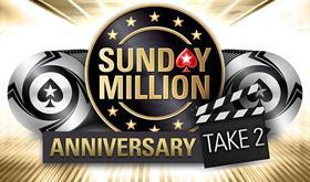 Sunday Million de Aniversário retorna neste domingo/CardPlayer.com.br