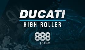 888 realiza o ultimo satélite para o Ducati High Roller/CardPlayer.com.br