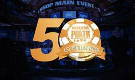 50ª WSOP já tem data e antecipa evento de 1 mi sem rake/CardPlayer.com.br