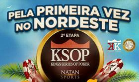 Conheça a grade de torneios do KSOP Natal/CardPlayer.com.br