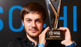 Aleksandr Merzhvinskiy é campeão do PSF Sochi/CardPlayer.com.br