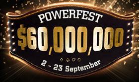 partypoker divulga cronograma da 9ª edição da Powerfest/CardPlayer.com.br