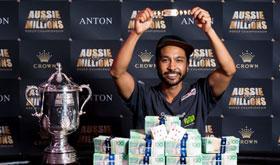 Shurane Vijayaram vence Main Event do Aussie Millions/CardPlayer.com.br