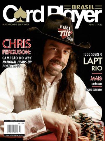 EDIÇÃO 10, maio/2008 - Chris Ferguson