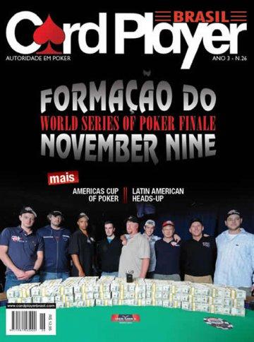 EDIÇÃO 26, setembro/2009 - November Nine 2009