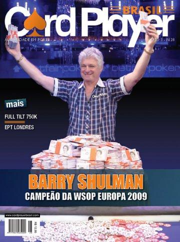 EDIÇÃO 28, novembro/2009 - Barry Shulman