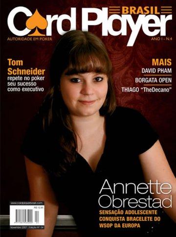 EDIÇÃO 4, novembro/2007 - Annette Obrestad