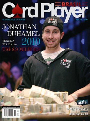 EDIÇÃO 41, dezembro/2010 - Jonathan Duhamel