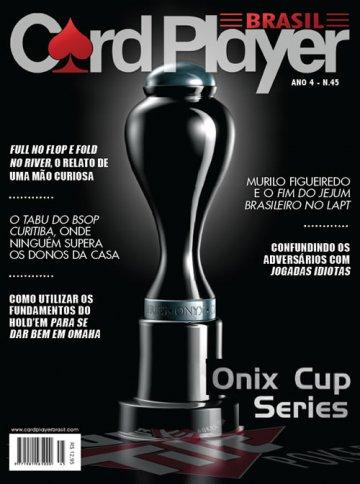 EDIÇÃO 45, abril/2011 - Onix Cup Series