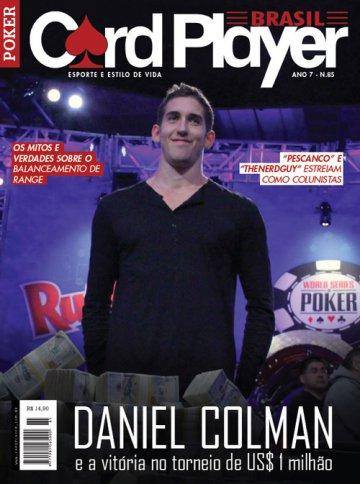 EDIÇÃO 85, agosto/2014 - Daniel Colman