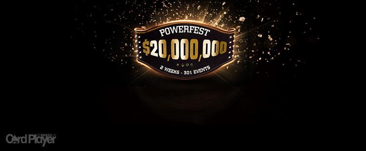 (CAPA) EDIÇÃO 117: partypoker Powerfest - 301 torneios e US$ 20 milhões garantidos