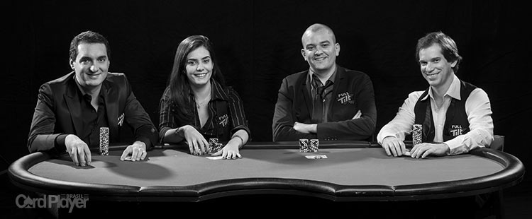 (CAPA) EDIÇÃO 71: Embaixadores Full Tilt - Os Quatro Ases do Full Tilt Poker